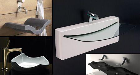 Different Designs Of Sinks  Bathroom  Pinterest  Sink Design Unique Designer Bathroom Sink Design Decoration
