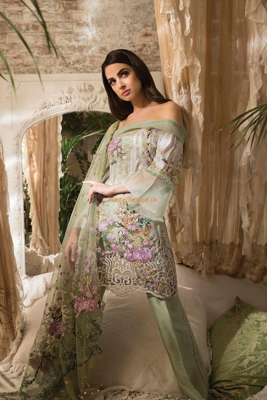 866294fb25 Sobia Nazir 1B Latest Embroidered Lawn Collection Replica in 2019 ...