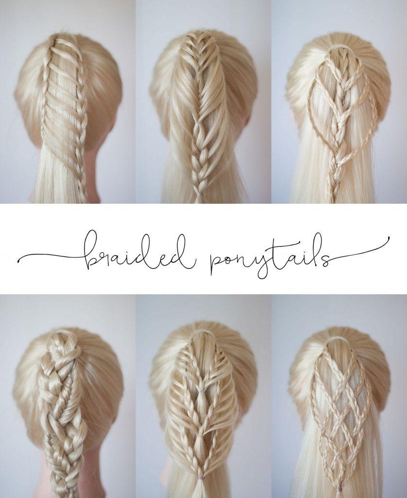 Braided Ponytail Ideas