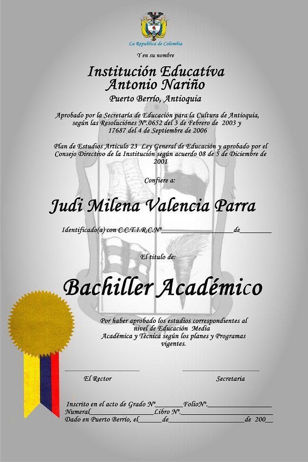 Pin De Joyce Eliana Mero Castillo En Recuerdos Diplomas De