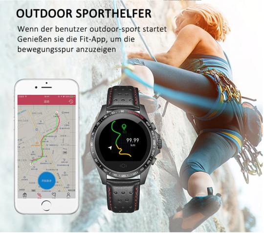 Mit wasserdichter Smartwatch fit und energiegeladen sein  #healty #fitnesstracker #smartwatch #watch...
