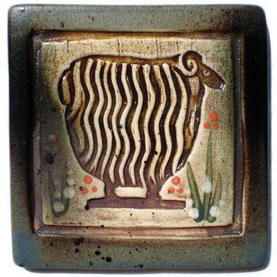 Sheep Tile by Dancing Eye Gallery, via Flickr
