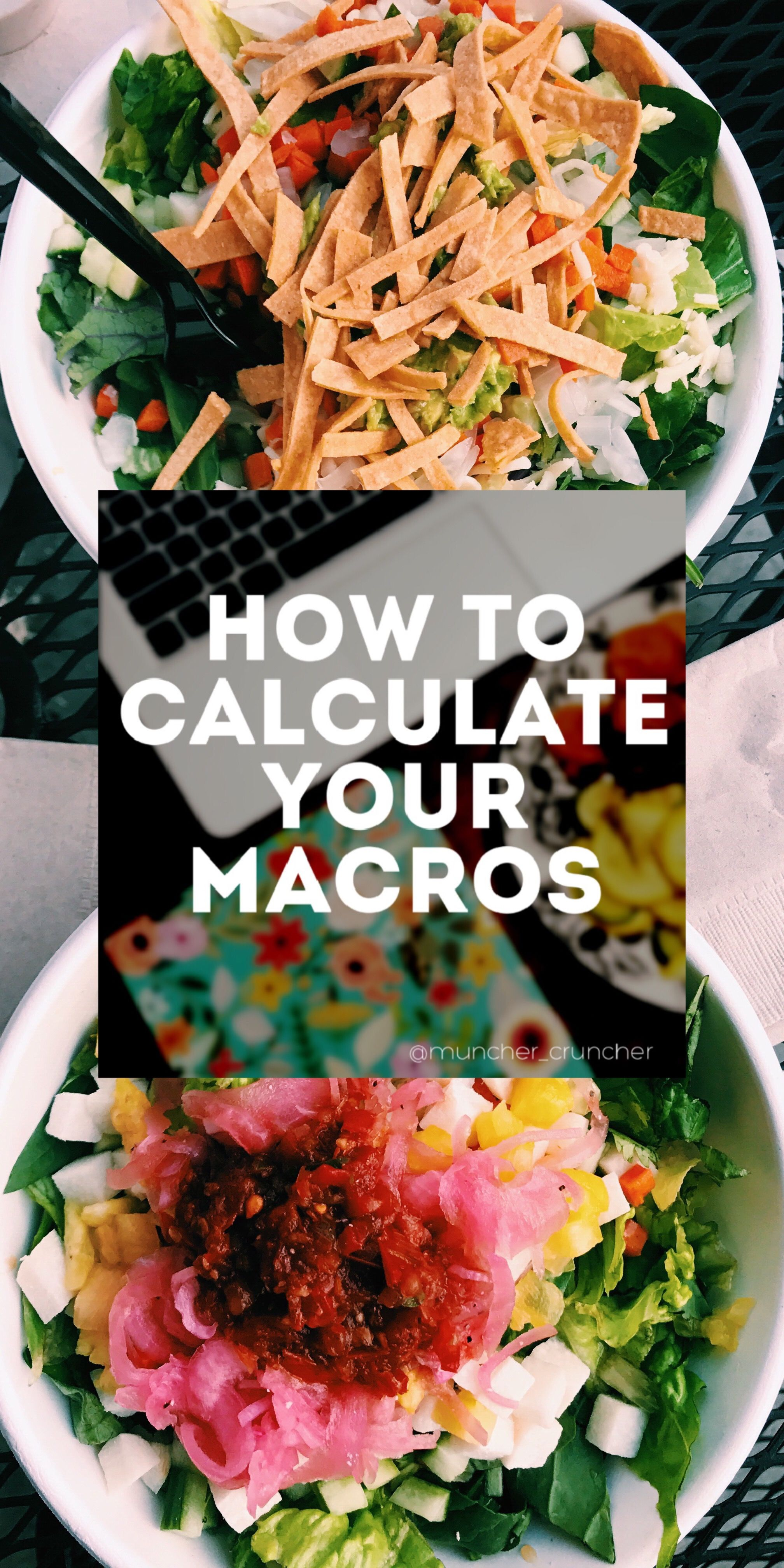 Figure out how to calculate macros macros calculator