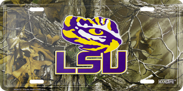 Graphics and More LSU Basketball Novelty Metal Vanity Tag License Plate