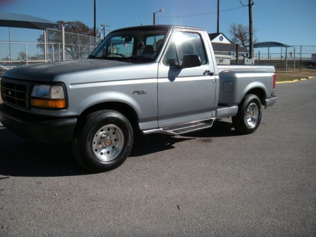 1994 Ford F 150 Step Side 6cyl 5 Speed Gas Saver Ford Trucks Ford F150 Gas Saver