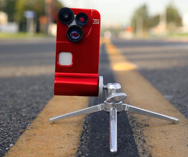 """Orbit Pro iPhone Case / The Orbit Pro iPhone Case from iZZi is the latest """"in"""" thing as far as iPhone photography is concerned.  http://thegadgetflow.com/portfolio/orbit-pro-iphone-case/"""