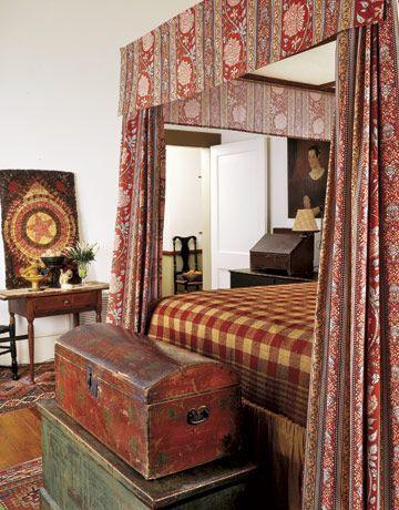 trunks   Home, Primitive bedroom, Bedroom design