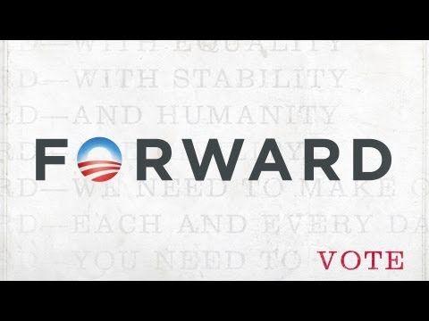 """""""Forward"""", canción en apoyo a Barack Obama. Interpretada por Ne-Yo, Herbie Hancock, Johnny Rzeznik, Delta Rae y Natasha Bedingfield."""
