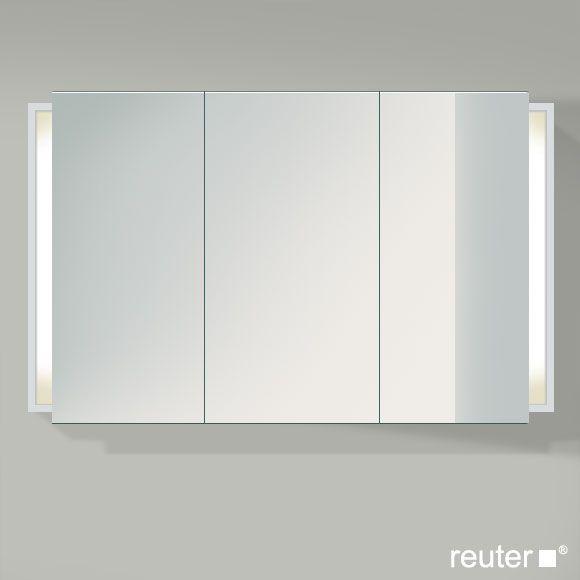 Duravit Ketho Mirror Cabinet With Lighting W 120 H 75 D 18 Cm Badezimmer Spiegelschrank Glasregal Spiegeltur