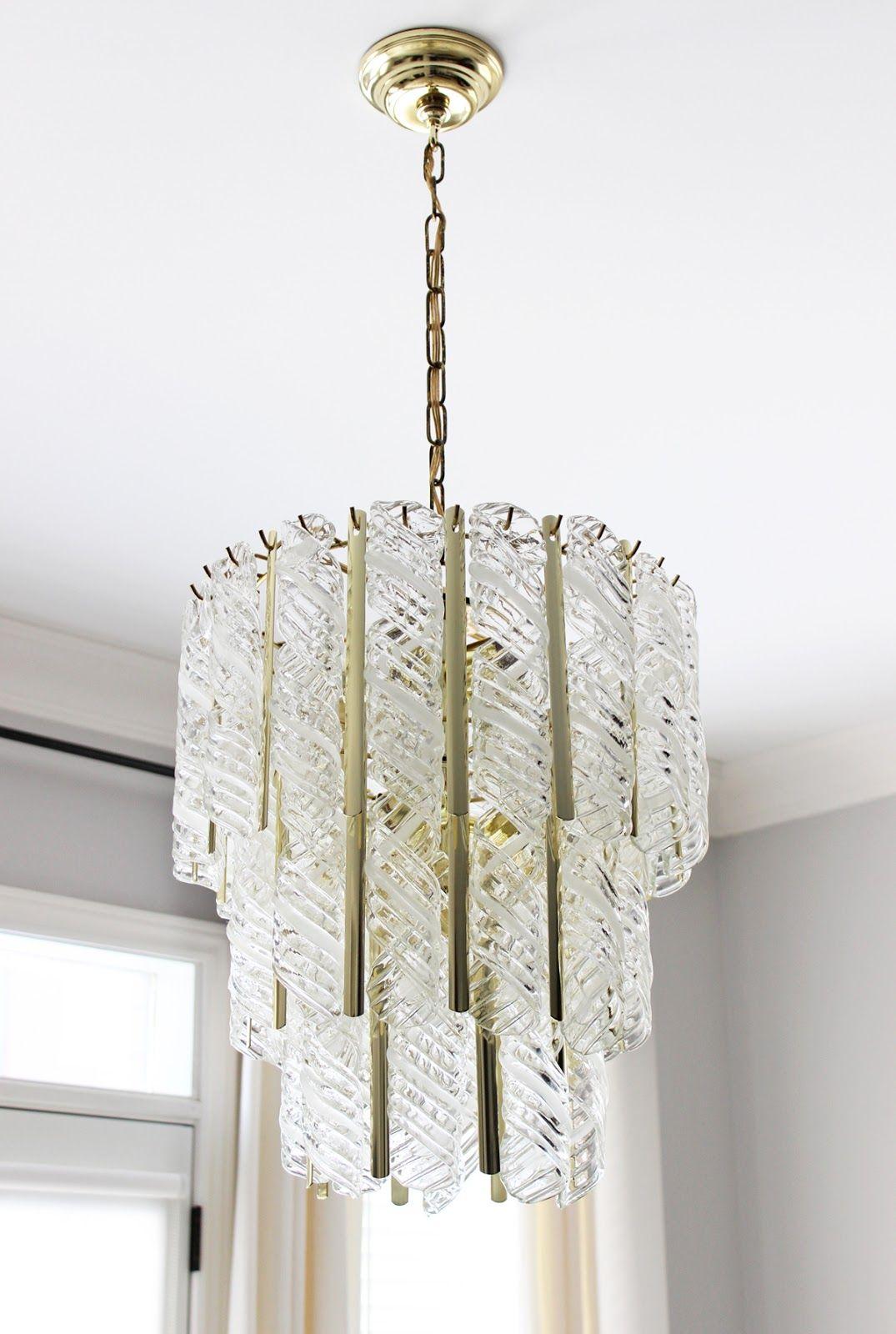 Vintage Venini Murano Glass chandelier - Vintage Venini Murano Glass Chandelier AM Dolce Vita Pinterest