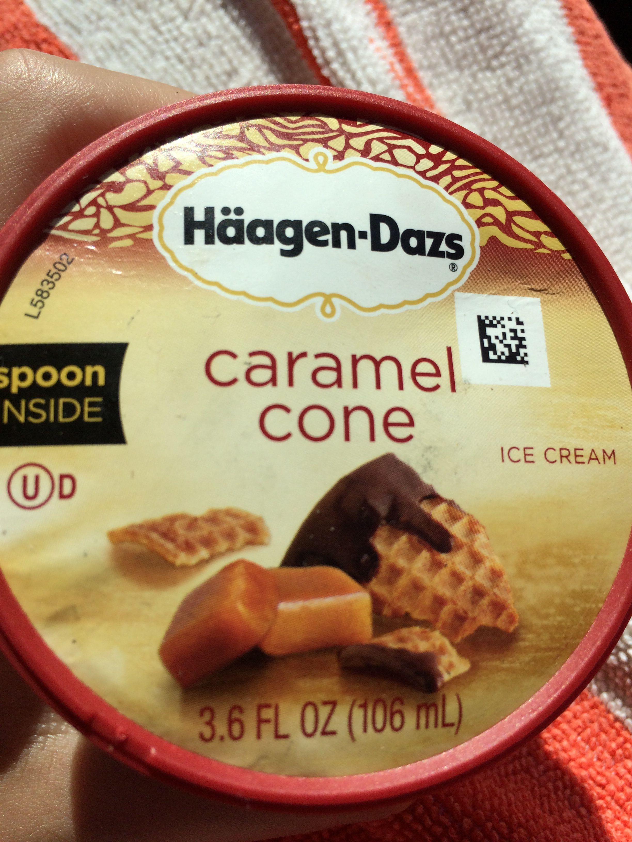 Carmel cone ice cream frozen yogurt ice cream flavors