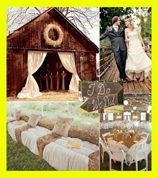 Decorations Tips Country Themed Wedding Ideas By Debbierose