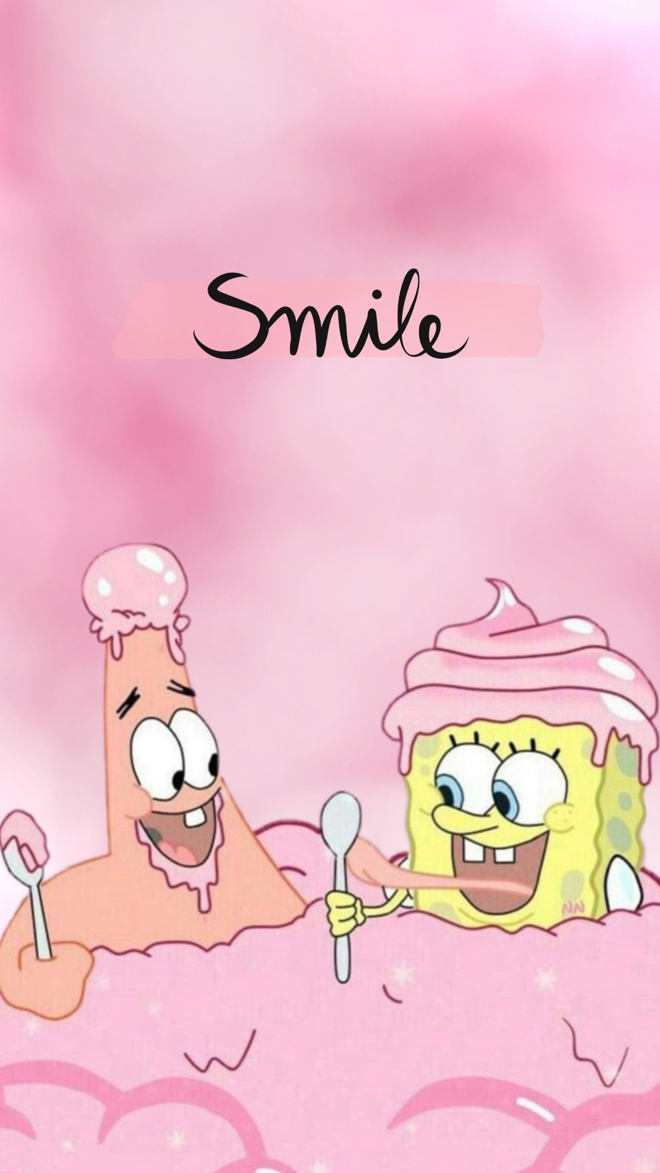 Wallpaper Sponge Bob And Patrick Pink Cartoon Wallpaper Iphone Spongebob Wallpaper Pink Wallpaper Iphone