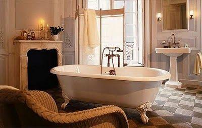 härligt badrum
