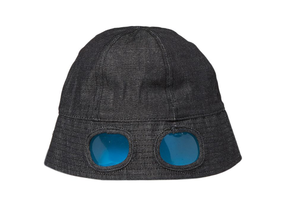 0f901920cfc47 You Must Create present the Banana Split Google Bucket Hat for SS15. Made  from indigo
