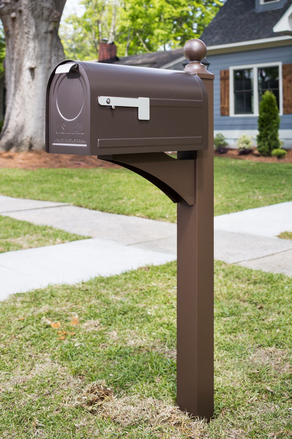Northpointe | Post Mount Mailbox | Gibraltar Mailboxes