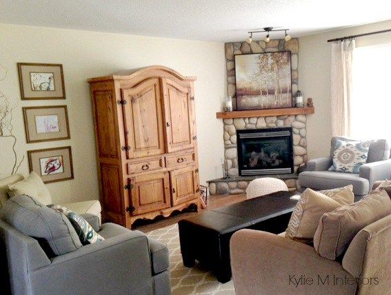 Our Living Room: New TV Stand, Décor and More… - Our Living Room: New TV Stand, Décor And More… TVs, Armoires And