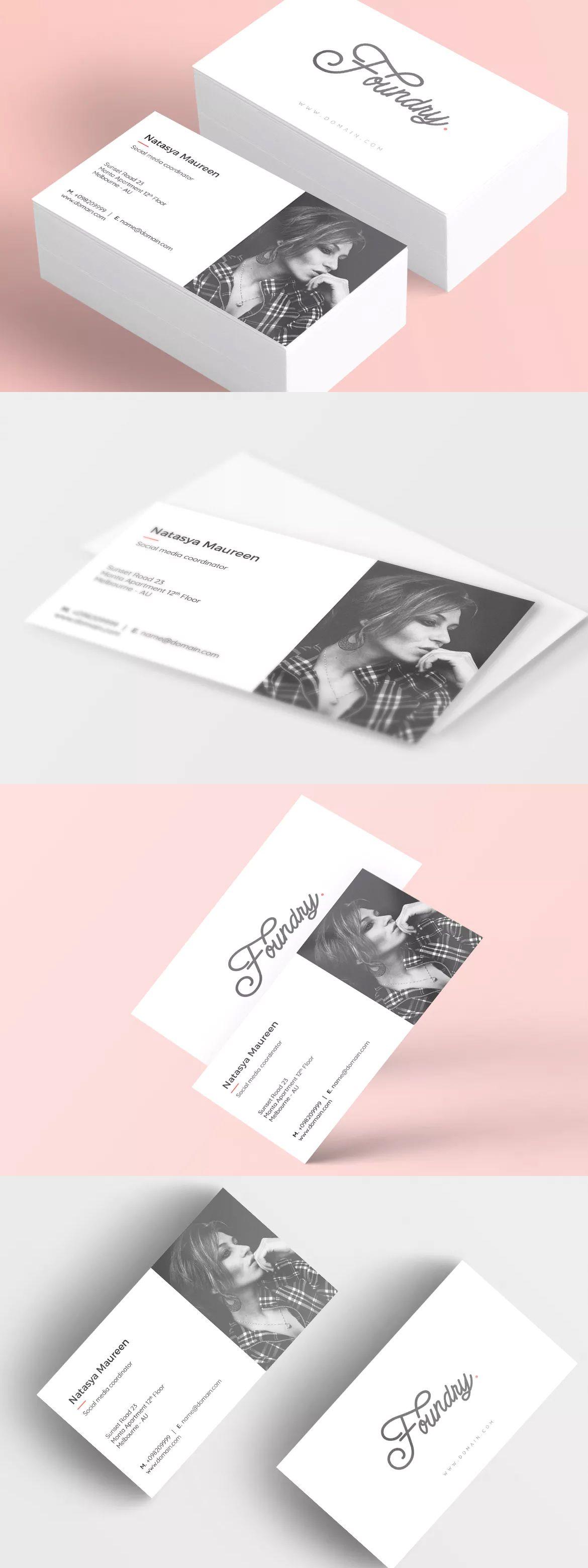 Foundry creative business card template psd business card ideas foundry creative business card template psd flashek Gallery