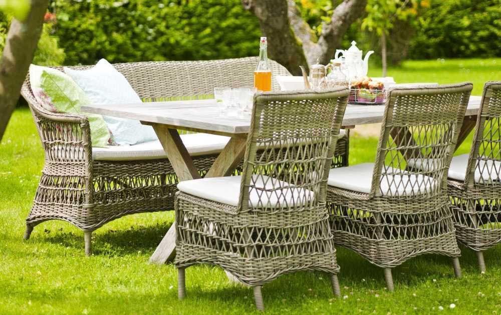 Sika Design Georgia Garden Gartensofa Charlot 3-Sitzer Georgia