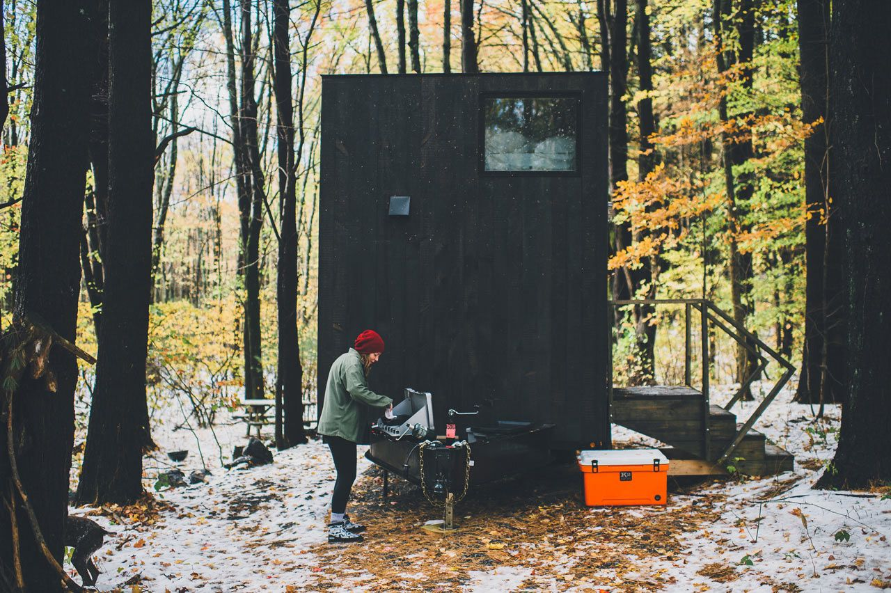 Getaway Tiny Houses in the Woods You Can Rent Tiny house