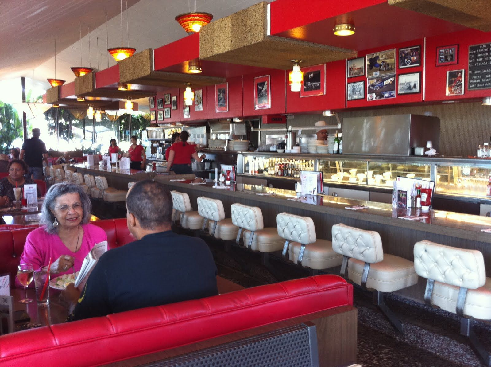 Pann S Restaurant Coffee Shop One Step Into The Diner And It S Apparent Why It S Been Recognized By The Prestigious Los An Coffee Shop Bakery Decor Diner