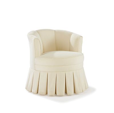 Amazing Swivel Boudoir Chair By Raymond Waites Couture Dining Room Caraccident5 Cool Chair Designs And Ideas Caraccident5Info