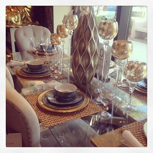 32 Elegant Ideas For Dining: @christys_beauties Captured A Stunning Table Display At