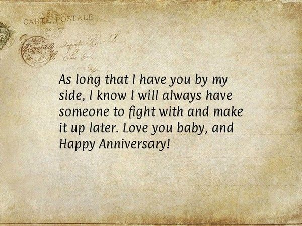 Anniversary quotes for him and her with images