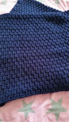 Photo of Baby blanket in the building block pattern