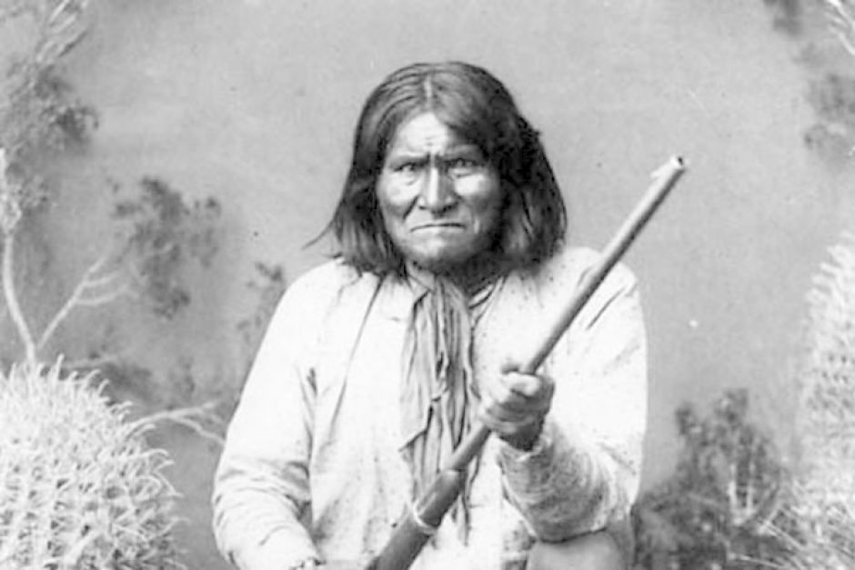 Chiricahua Apache Indian chief, Geronimo | Those who have