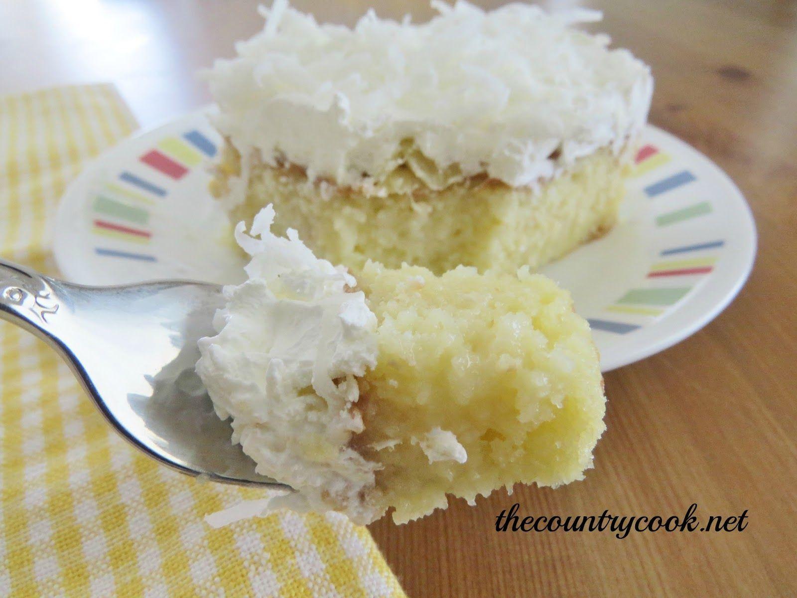 White Cake Mix Poke Cake Recipes