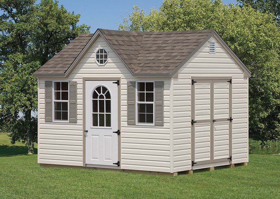 10x12 6 A Frame Regular Vinyl Shed With Dormer Package Www Amishshedsnewjersey Com Greenhouse Shed Shed Storage Sheds For Sale