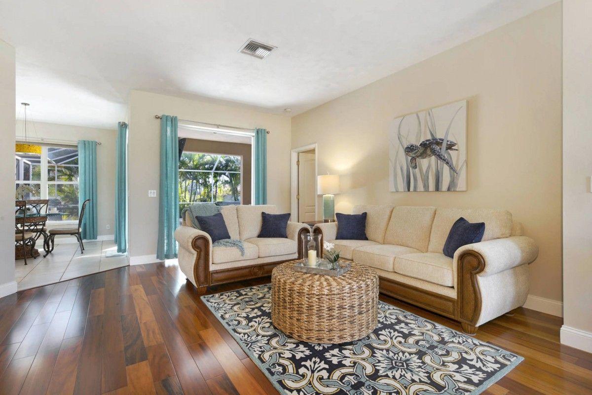 Villa Nova Living Room Cape Coral Cape coral, Bedroom