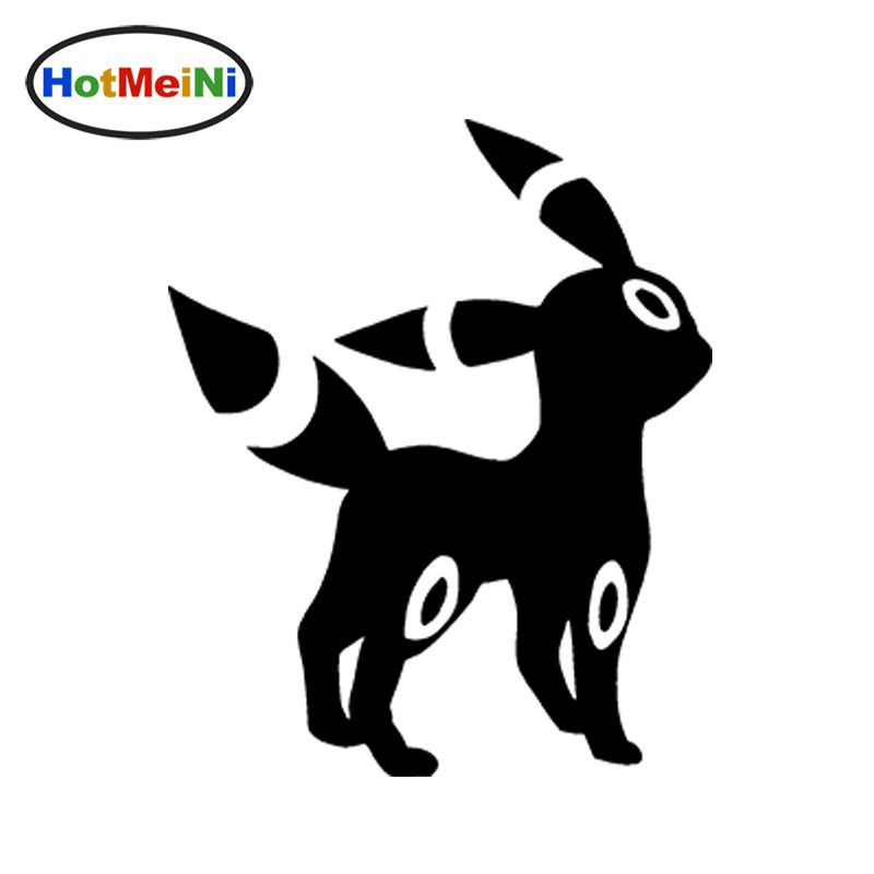 Hotmeini 12cm12cm umbreon pokemon funny jdm personalized