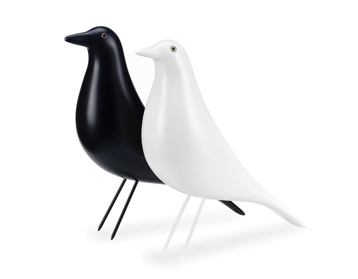 Eames White Black House Birds From Stardust Https Www Stardust Com White House Bird Html Eames House Bird Eames House Alder Wood