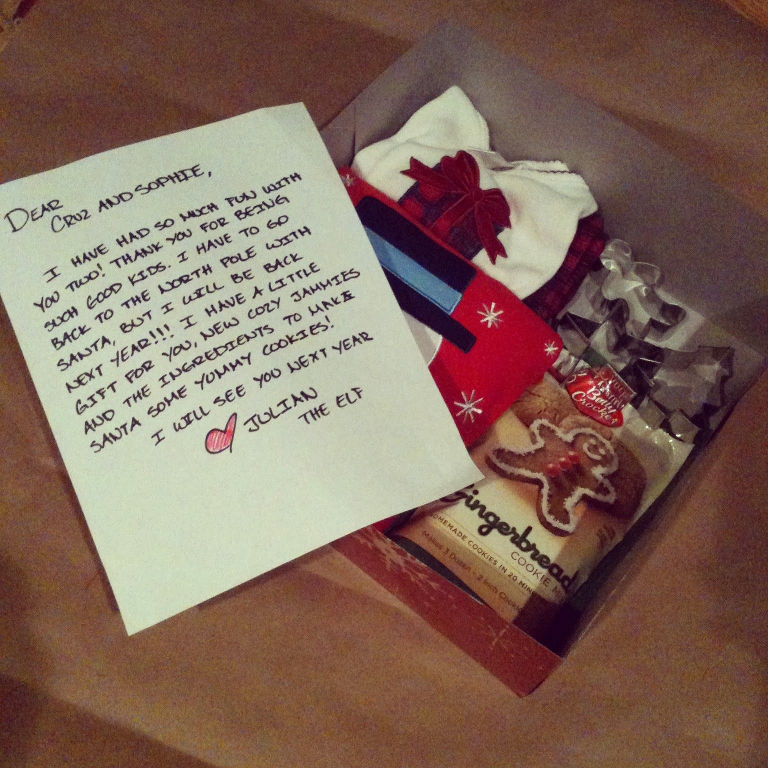 Note From Elf Xmas Pinterest Christmas Holiday Traditions And