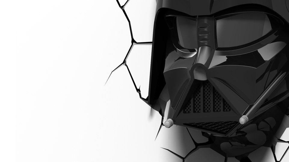 Darth Vader Helmet Darth Vader Helmet 3d Deco Light Star Wars Darth Vader
