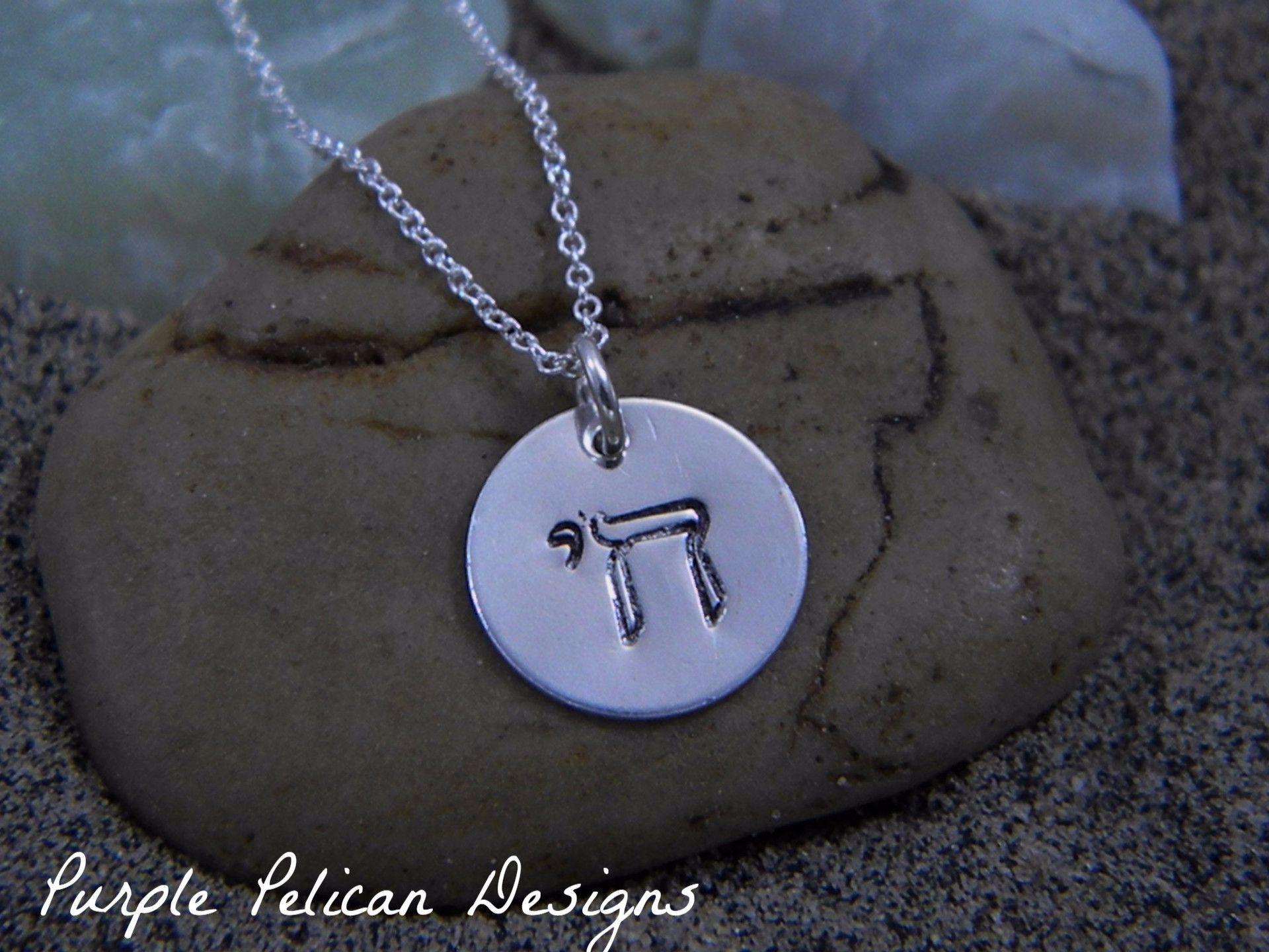 Chai symbol sterling silver charm necklace products charms and chai symbol sterling silver charm necklace buycottarizona