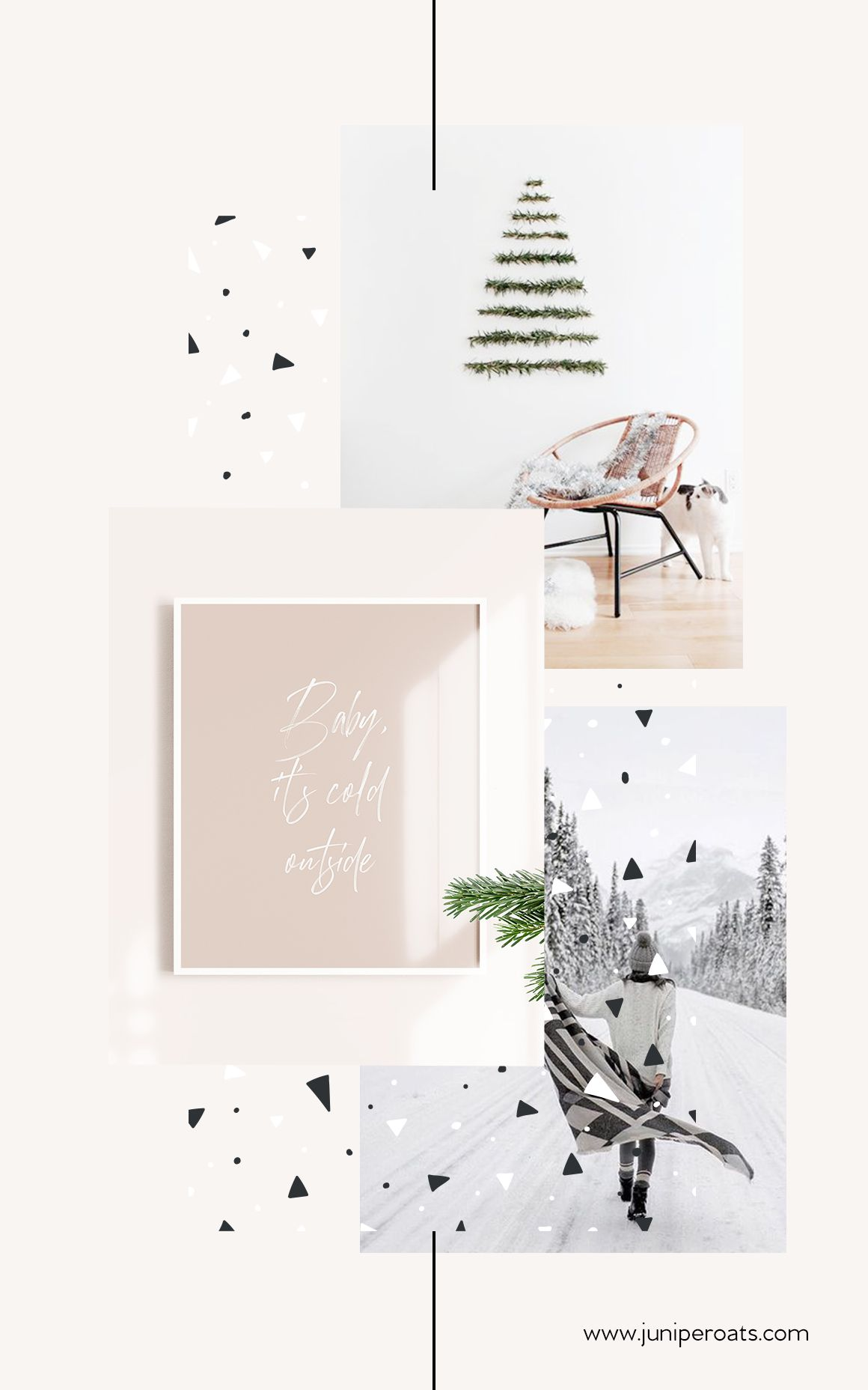 Baby it's cold outside – blush