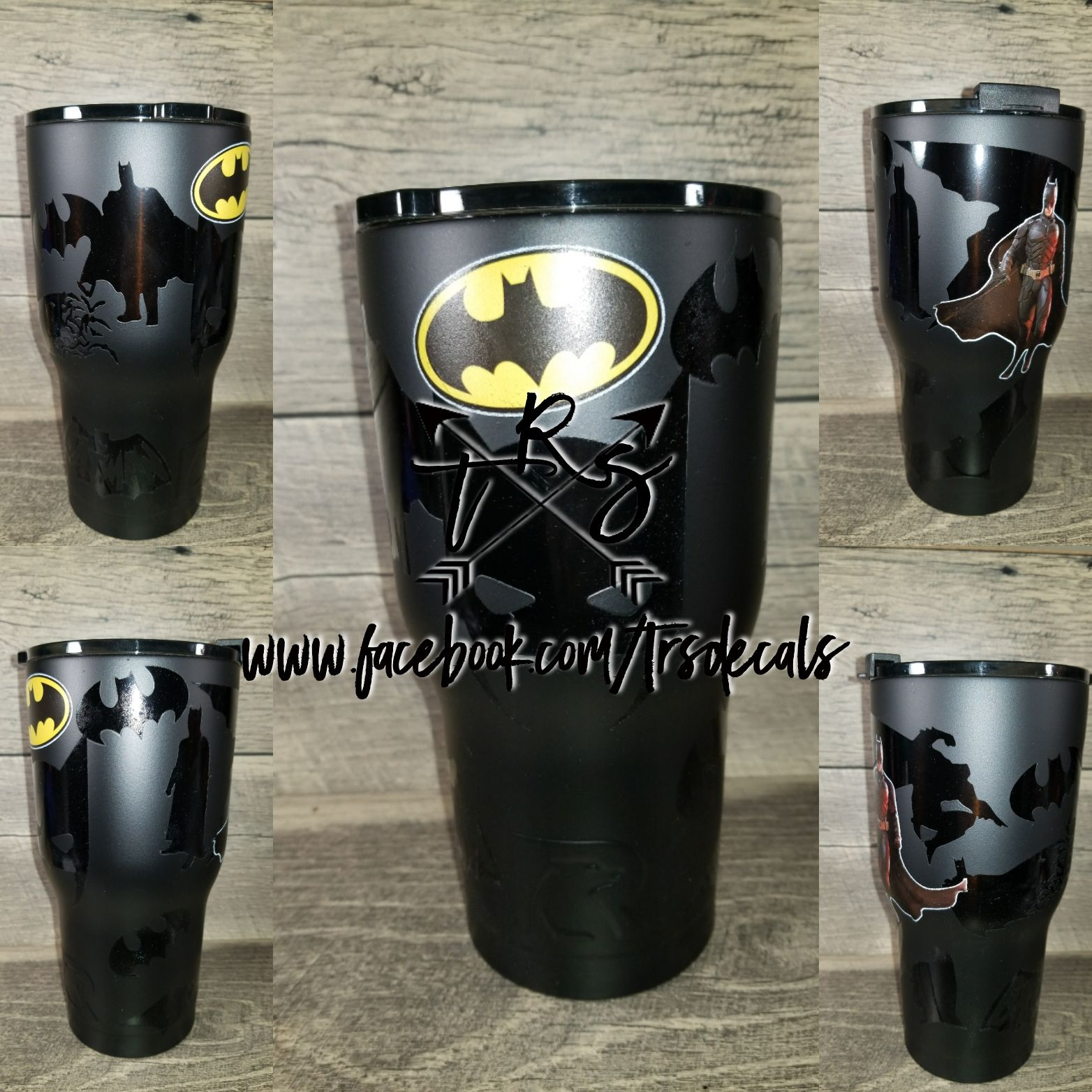 de4a6c00fdc Batman customized rtic yeti cup | rtic tumbler cups - Www.facebook ...
