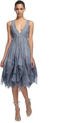 ShopStyle: Donna Karan New York Donna Karan New York: Crisscross Floating Air Pleated Dress