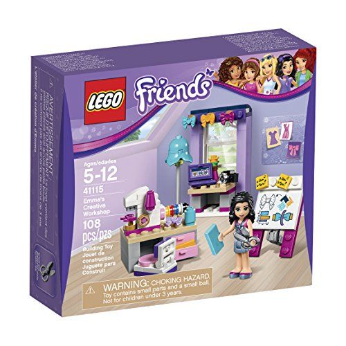 Lego Friends Emmas Creative Workshop 41115 Toy Pinterest