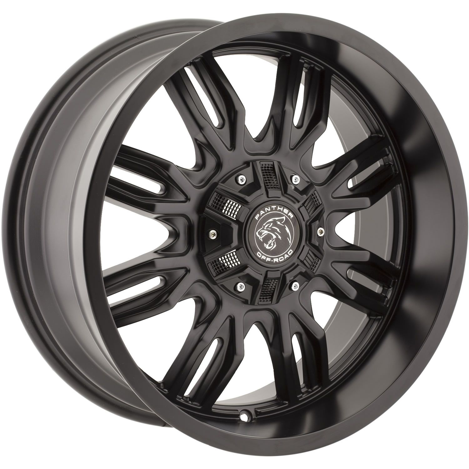 20x9 Black Panther Offroad 580 6x4 5 6x5 5 12 Wheels 35x12 50r20lt Tires Black Wheels Wheel Rims Jeep Wheels