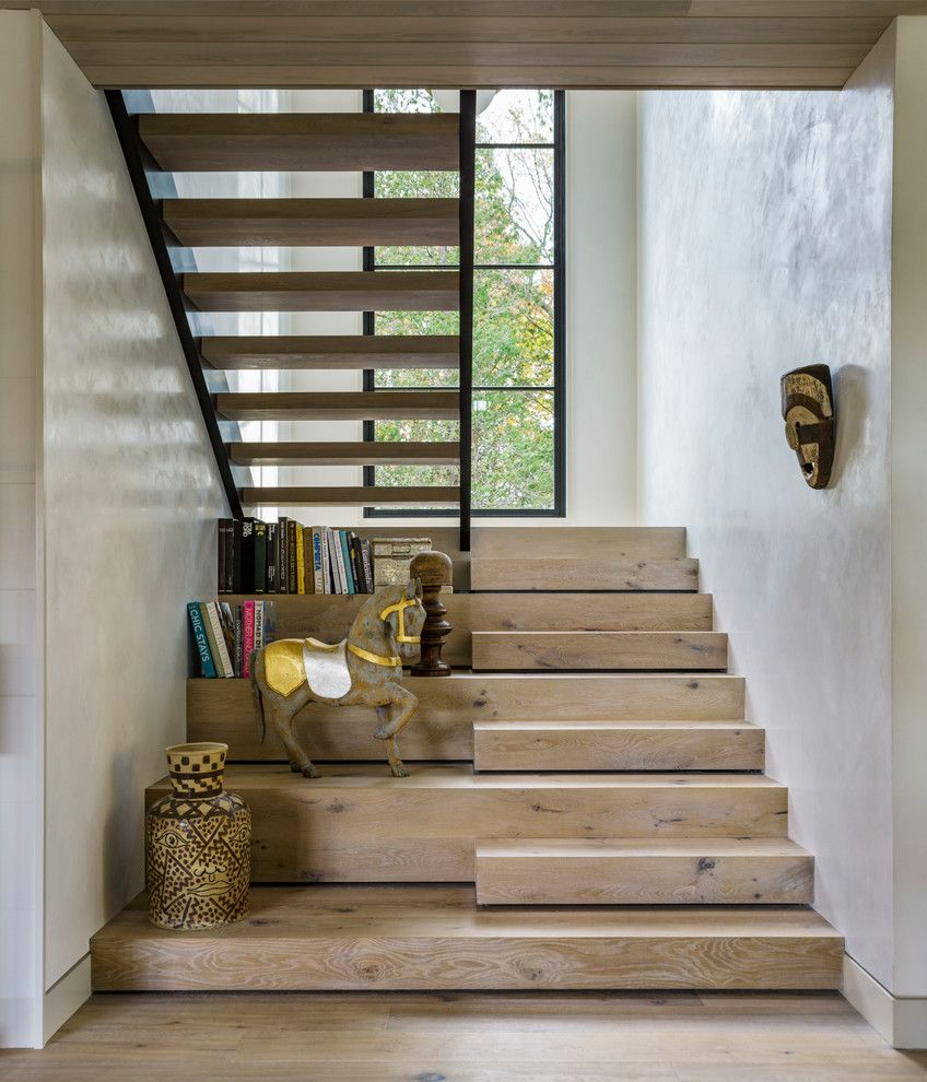 Best 16 Stunning Farmhouse Staircase Designs That Will Bl*W 400 x 300