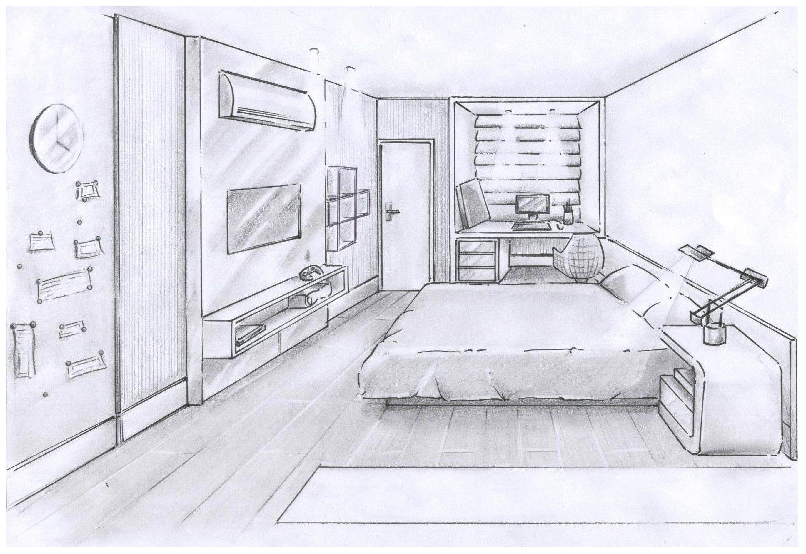 Croqui Dormit Rio Adolescente Desenho Pinterest  ~ Desenhos Para Quarto De Adolescente