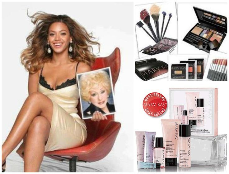 What?! Beyonce uses Mary Kay?! Yes! And did you know MK Is the #1 skin care and makeup line in the USA? And made in the USA? www.marykay.com/emelton3 emelton3@marykay.com