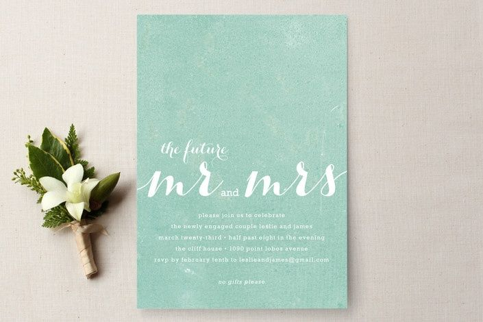 mint green wedding invitation you can't show a mint green wedding, Wedding invitations