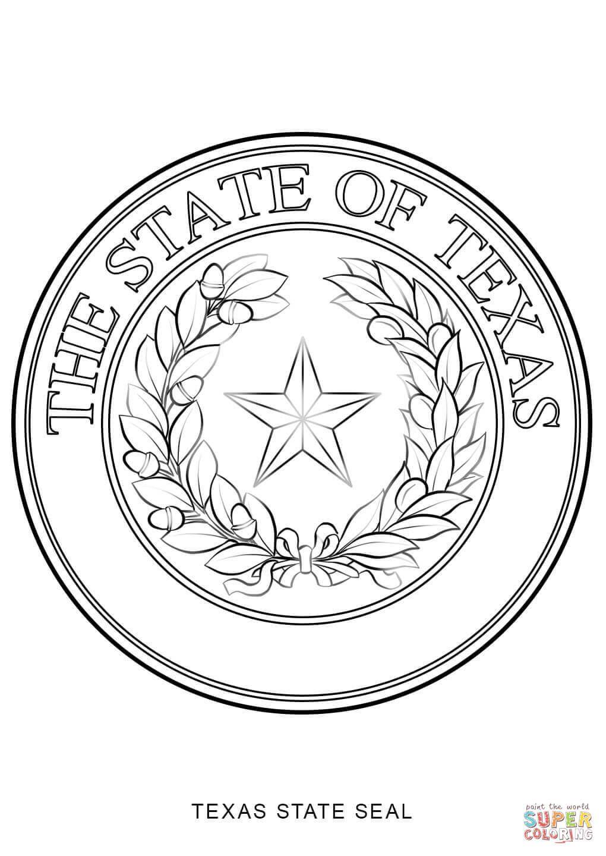 Increíble Texas Para Colorear Molde - Dibujos Para Colorear En Línea ...