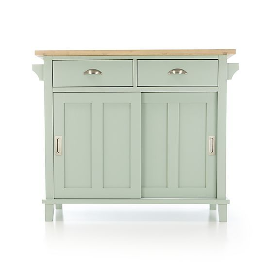 Belmont Mint Kitchen Island + Reviews