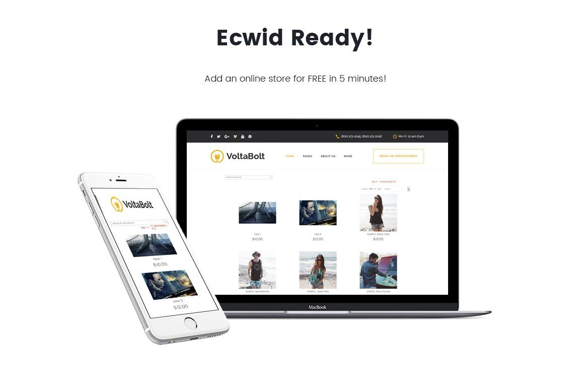 Electrician Services Wordpress Theme (With images